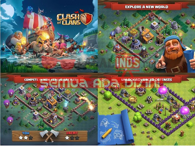 Download Game Clash of Clans 9.434.18 Terbaru APK