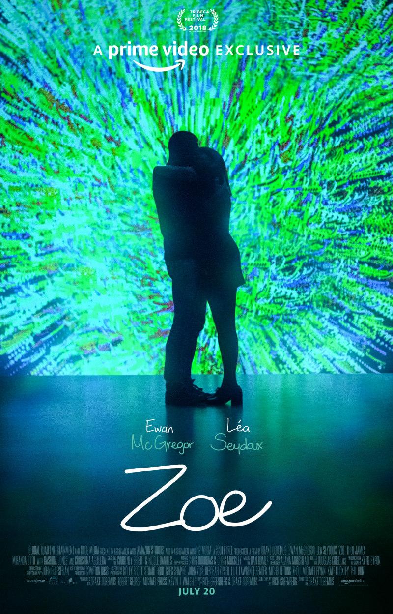zoe Léa Seydoux & Ewan McGregor poster