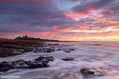 Dunstanburgh Castle sunrise