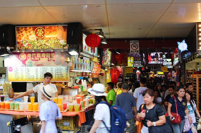 penjual jus di jalan bugis