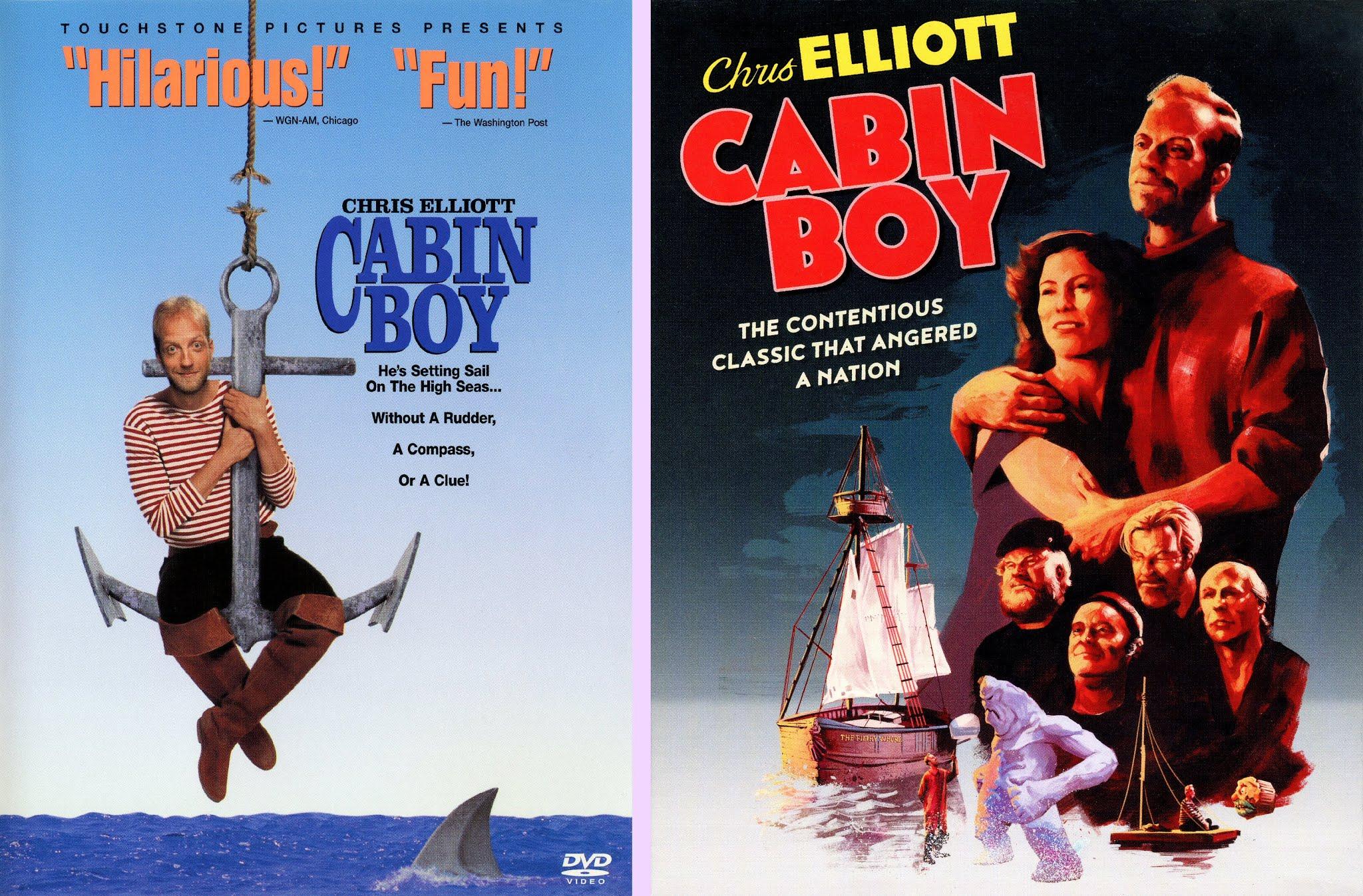 cabin boy 1994 vhs