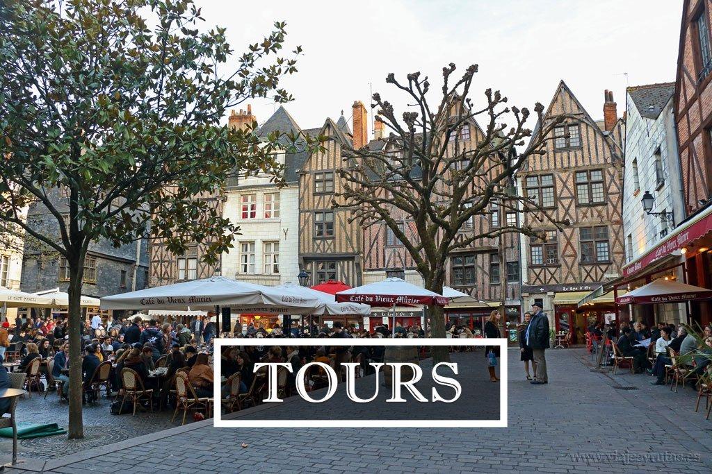 Tours, el corazón del Valle del Loira