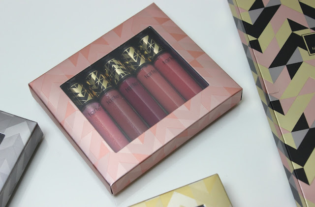 A picture of tarte Mistletoe Madness 15 Piece Deluxe Lip Gloss Set