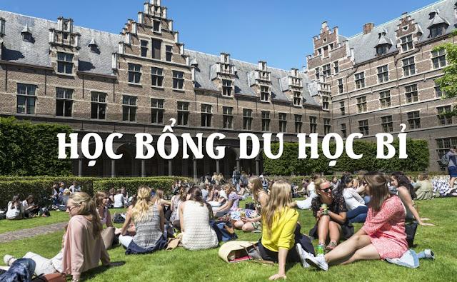 Săn học bổng du học Bỉ cập nhật mới nhất 2019