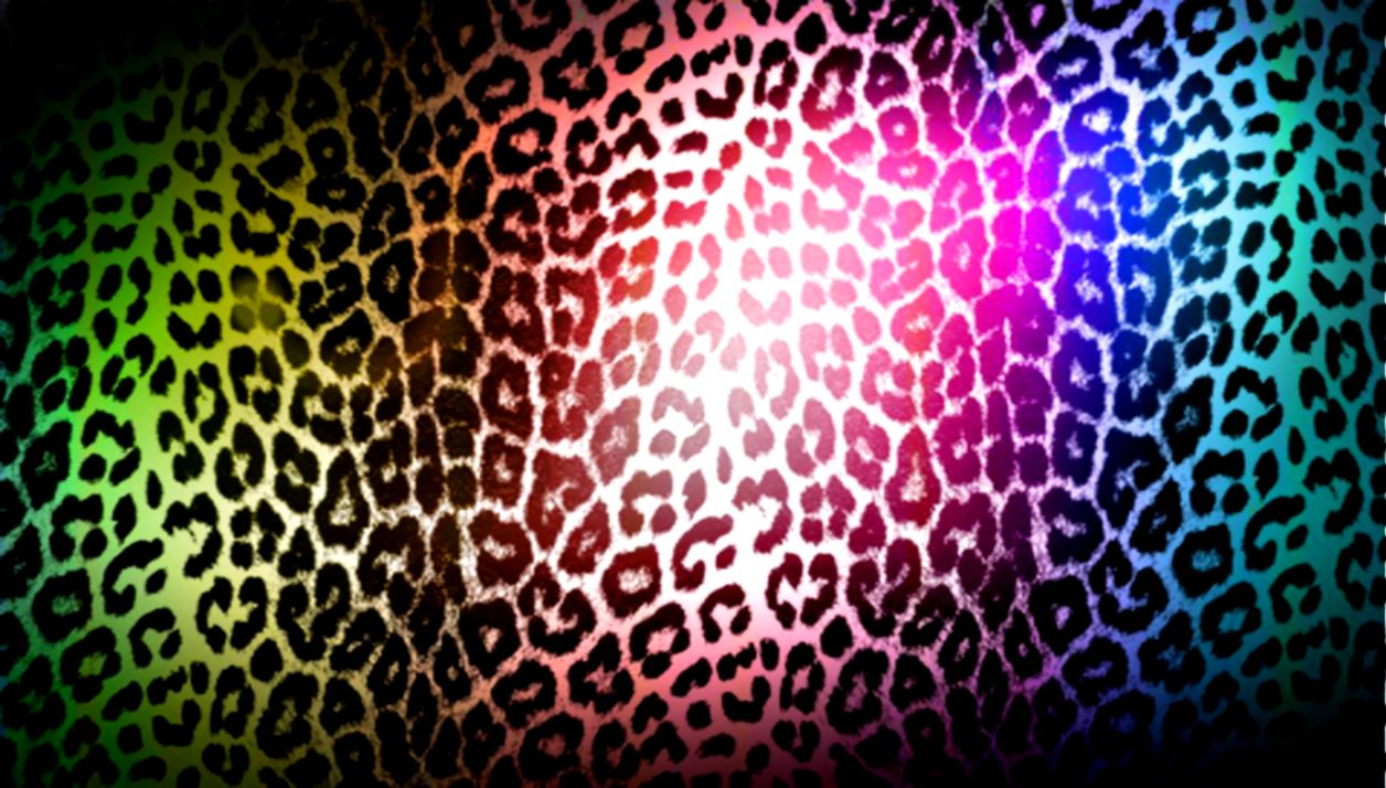 Colorful Leopard Print Background Wallpaper   All HD ...