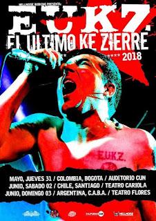 El Ultimo Ke Zierre gira latinoamerica 2018