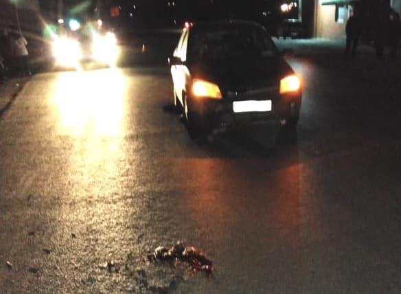 В Уфимском районе автоледи совершила наезд на девочку