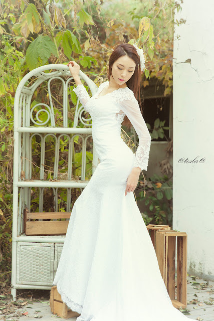 3 Ju Da Ha - wedding dress - very cute asian girl-girlcute4u.blogspot.com