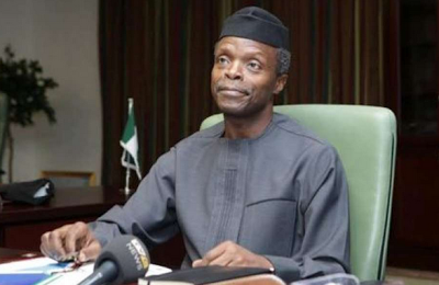 It Is Madness For Anybody In Our Position To Be Looking For Money- VP Osinbajo Says