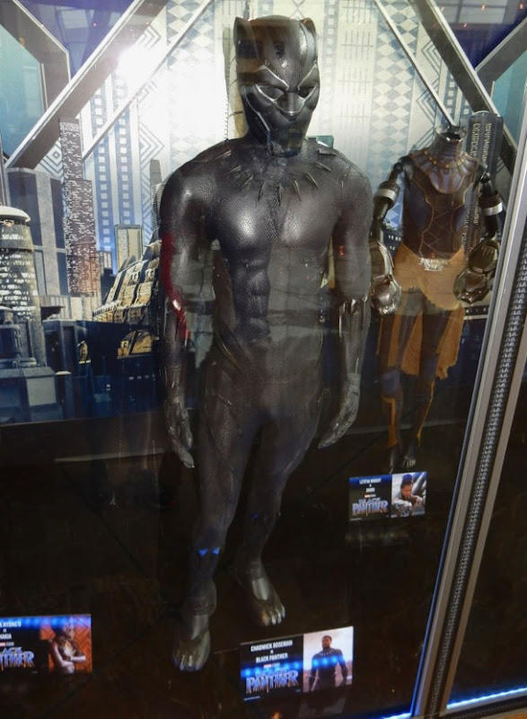 Chadwick Boseman Black Panther movie costume