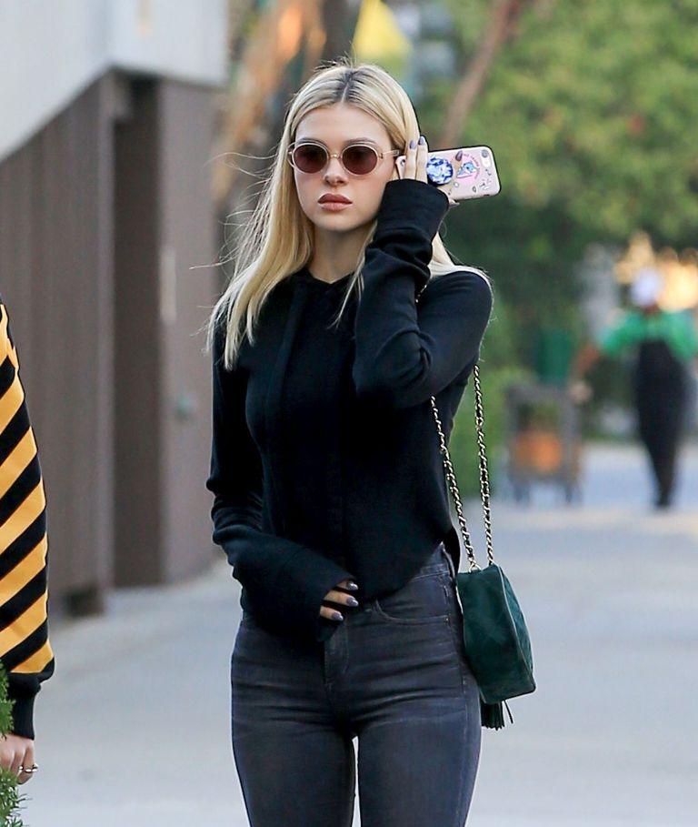 Nicola Peltz casual street style out fashion