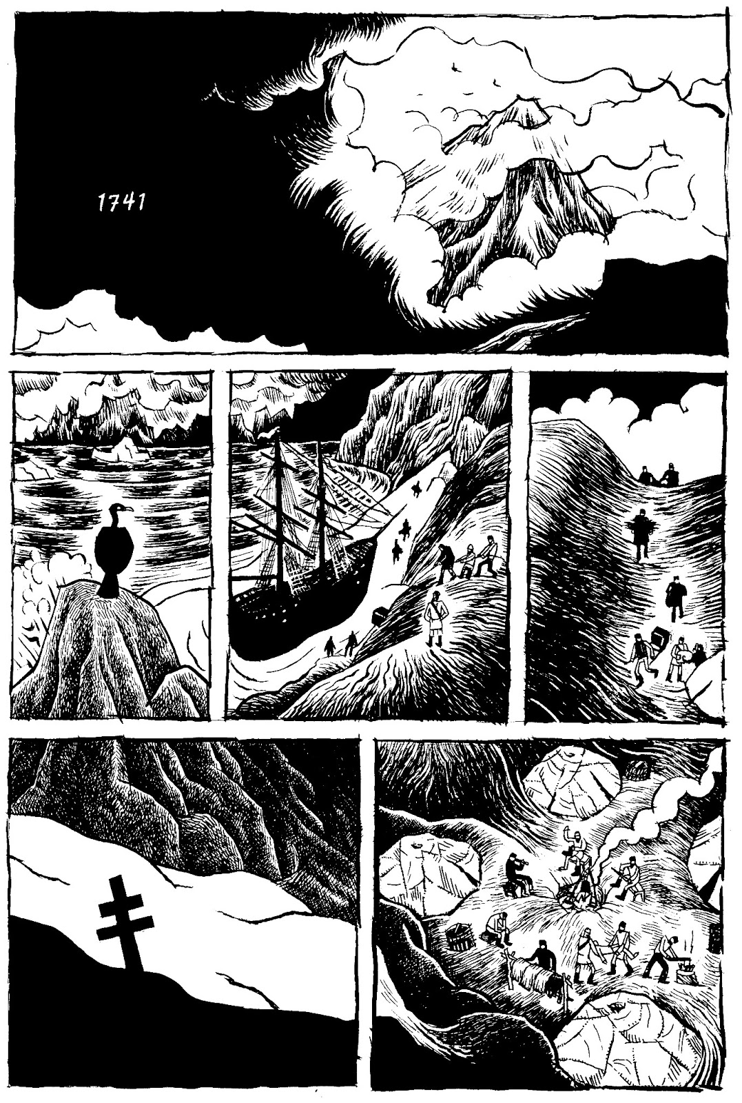 T Edward Bak is creating comics, graphic novels, natural history art