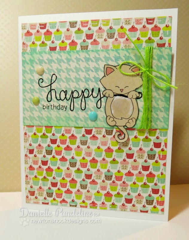 Happy Birthday Card | featuring Newton's Nook Designs | created by Danielle Pandeline