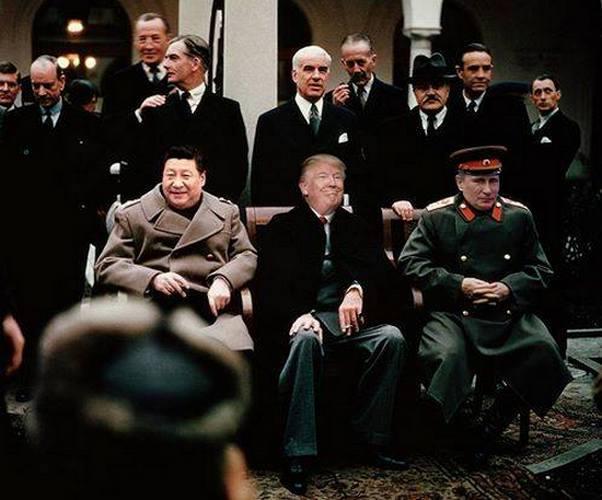 Трамп рушит, Путин ему аплодирует, Си Цзиньпин выстраивает правила игры на будущее