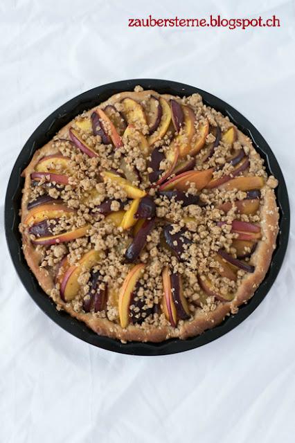 gesunder Kuchen, Kuchen mit Dinkelteig, gesundes Rezept, Foodblog Schweiz, Blog Schweiz, Nektarinenkuchen, Zwetschgenkuchen