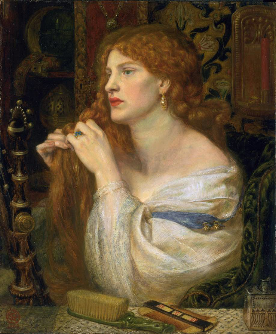 Dante Gabriel Rossetti - Fanny Cornforth - Aurelia. Fazio's Mistress - Tate