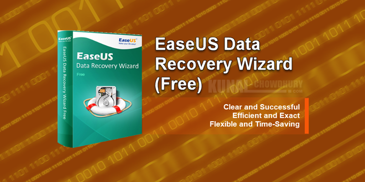 Recover your deleted files with EaseUS Data Recovery Wizard Free 11.6