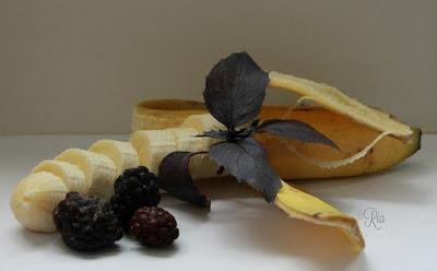 Banaan, braam, basilicum