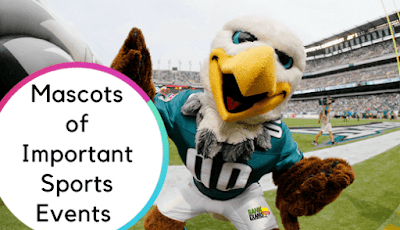 Mascots of Important Sports Events