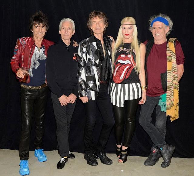 The Rolling Stones, Gwen Stefani