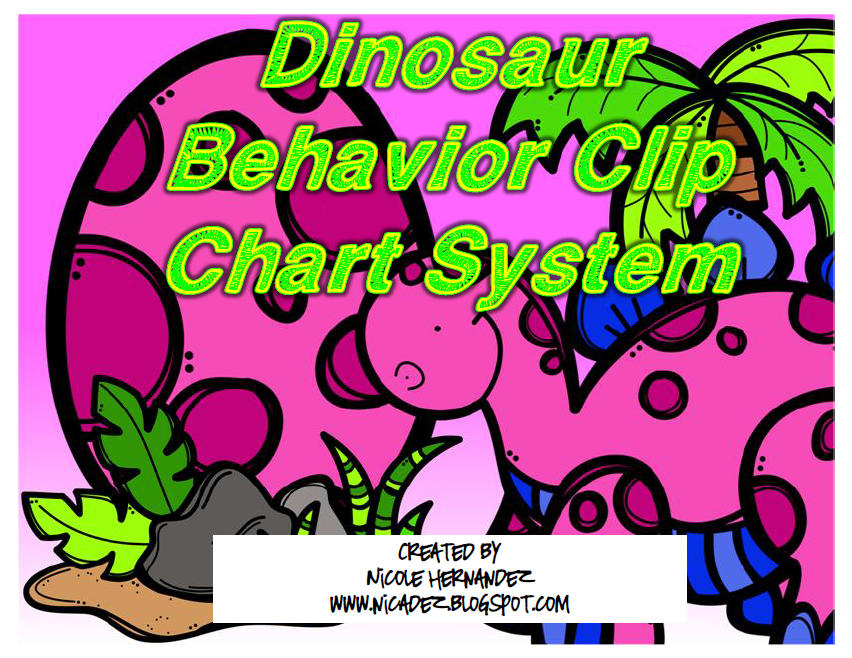 http://www.teacherspayteachers.com/Product/Bright-Dinosaur-Behavior-Clip-Chart-System-1400801