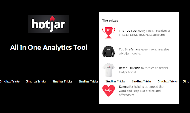 Hotjar Website Loot - Get Free T-shirt and Hoodies For Referring Friends