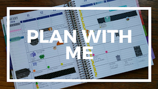 Plan with me video for Plum Paper Family Planner