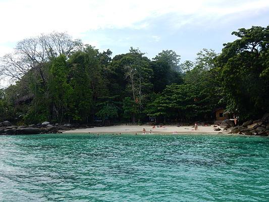 passeio de barco phi phi tailandia