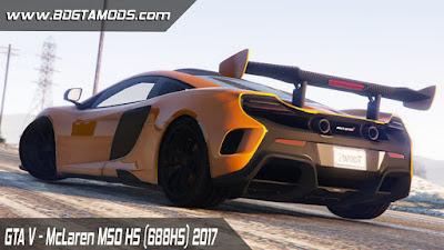 GTA V - McLaren MSO HS (688HS) 2017
