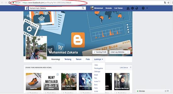 id facebook terbaru