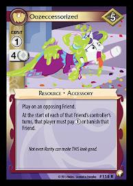 My Little Pony Oozeccessorized Equestrian Odysseys CCG Card