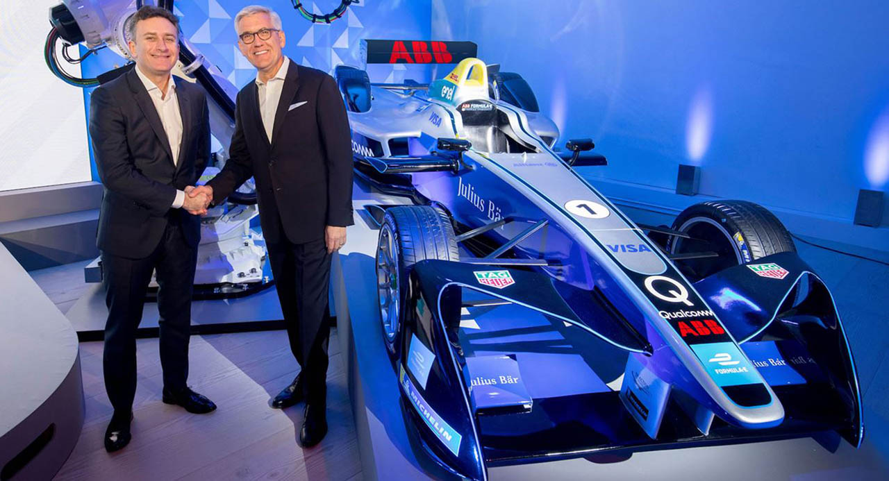 ABB joins Formula E as title partner of electric street racing series