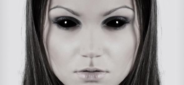 Resultado de imagen de ojos negros black boo