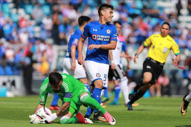 Cruz Azul ganó 2-1 al Atlas