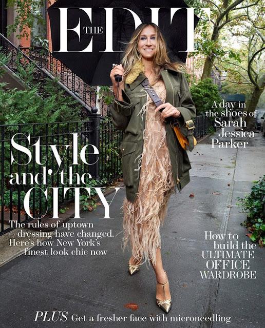 Sarah Jessica Parker en couverture de The Edit, Novembre 2016