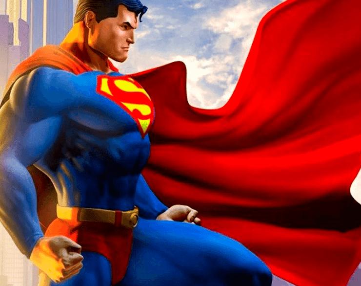 Coloriage Facile Superman.Image De Superman A Colorier