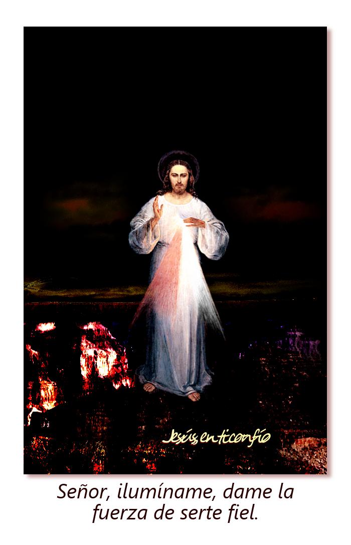 oracion para ser fiel con jesus divina misericordia