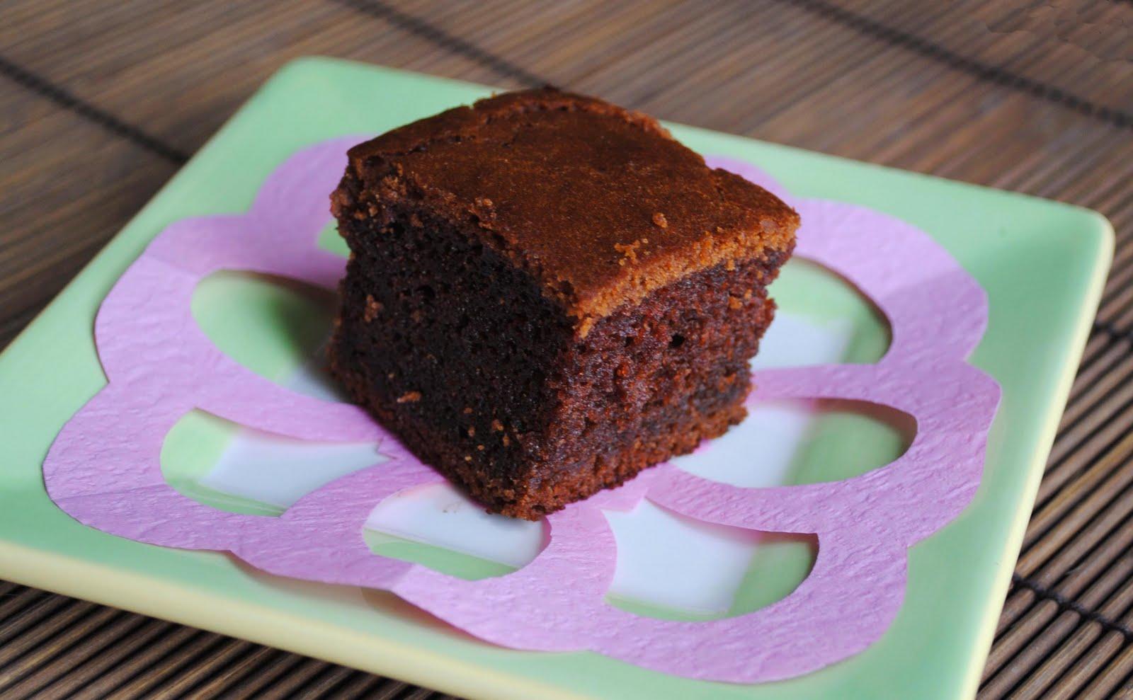 Cocoa Mochi Cake Recipe