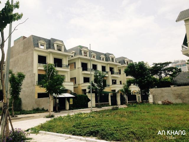 Tiến độ xây dựng của An Khang Villas Dương Nội