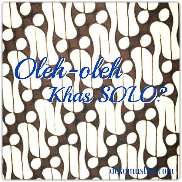 Nitip Oleh-oleh Khas Solo
