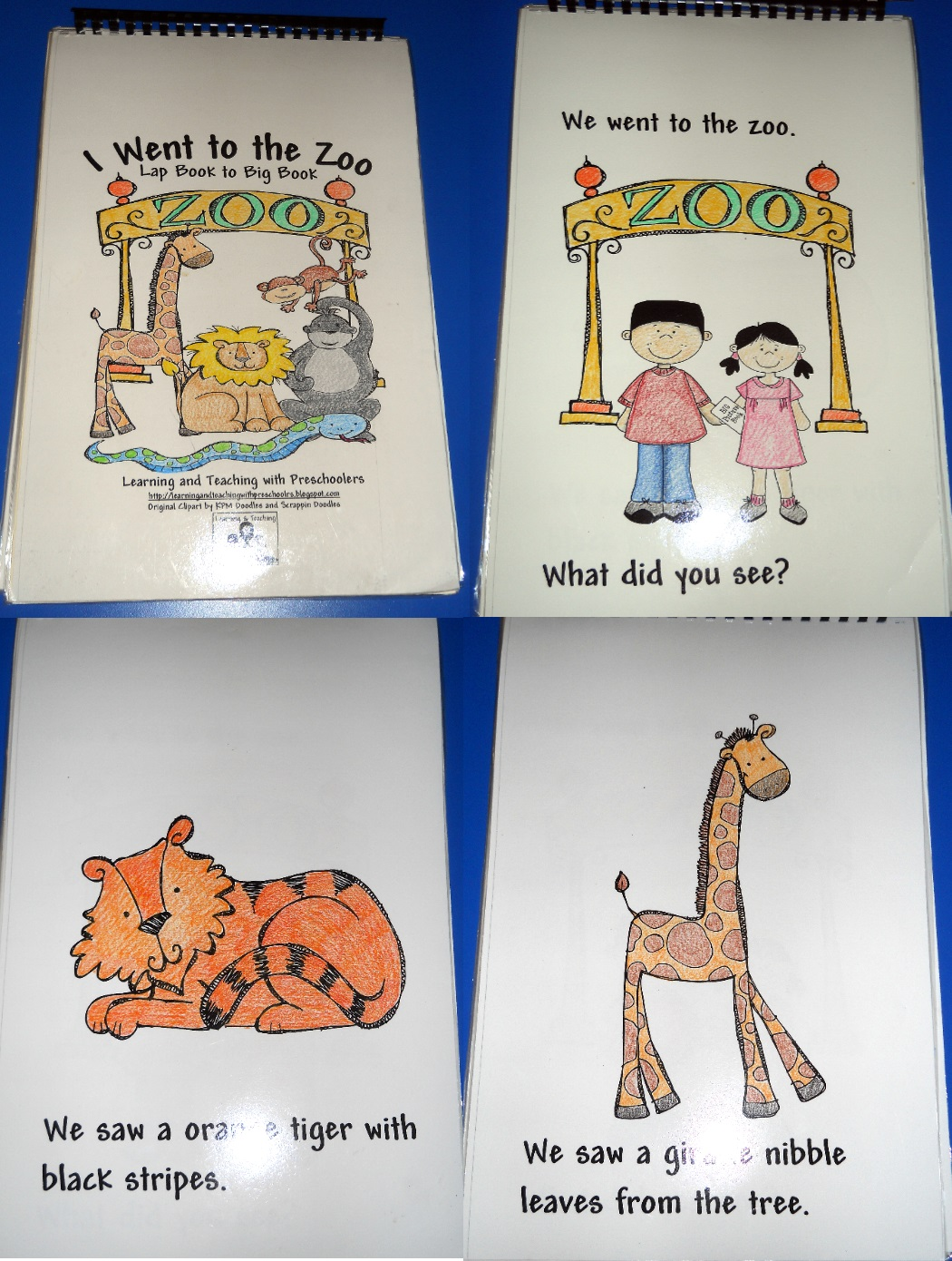 Learning And Teaching With Preschoolers Zoo Zoo Where
