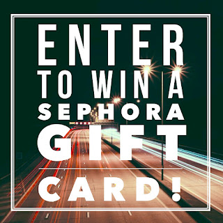 Enter the Sephora gift card giveaway. Ends 4/8