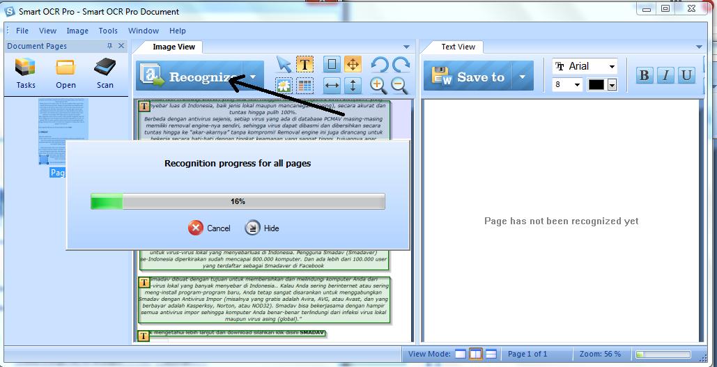 Convert Image To Word | Smart OCR , cara convert gambar menjadi terbaik tulisan, termudah dan