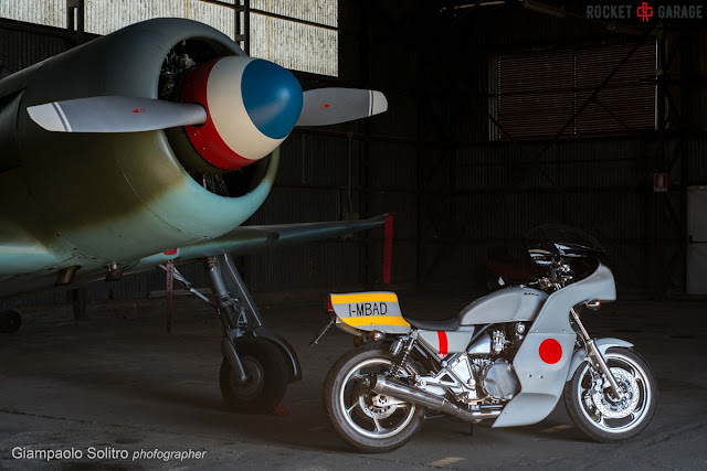 Kawasaki zero ocgarage rocketgarage cafe racer for Garage significato