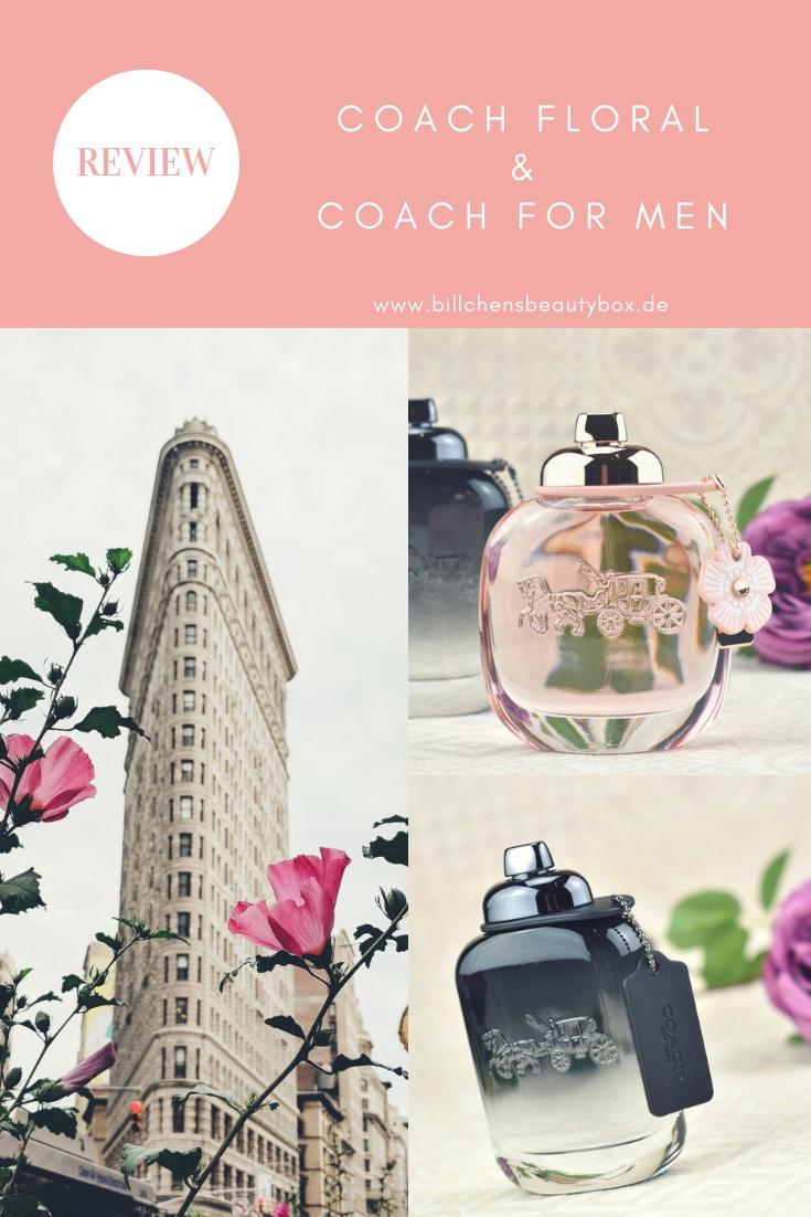 Review COACH Floral und COACH for Men Eau de Parfum