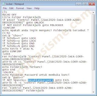 Tutorial Mengunci dan Menyembunyikan File dalam Folder di Windows