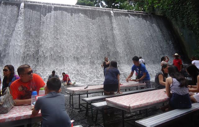 Villa Escudero Water Falls