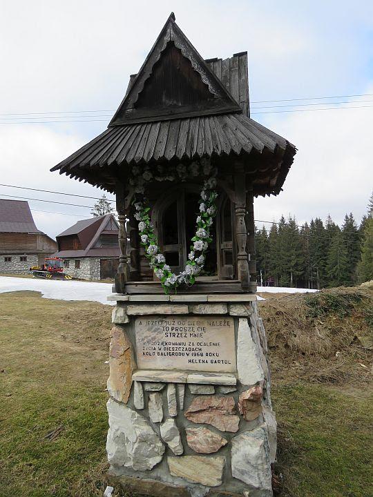 Kapliczka Heleny Bartol na Gubałówce.
