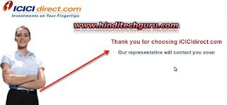 Online Trading Account icici direct