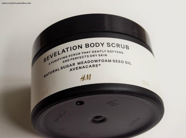 H&M Revelation Body Scrub Review
